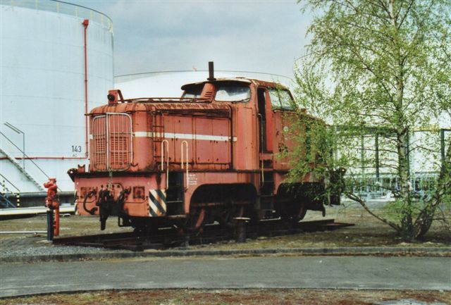 """I 2008 stod en """"ældre"""" Oiltanking 3, som Denkmal og reservedelslager. Det var en Henschel med kobbelstænger, men ikke identisk med den gamle Henschel 1. idet de sås samtidig. Der er ingen data på den, men også den stammede fra Esso, hvor den havde haft nr. 6072."""