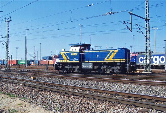 MWB V 1001. 98 80 0273 007-1 D MWB. MWB er Mittelweserbahn. Firmaet er i 2013 overtaget af EVB.