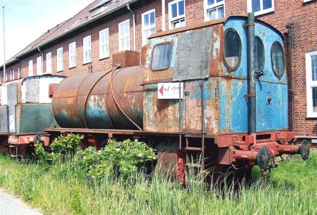 HEW Tiefstack uden nr., Jung 10798/1950 BFf. Udrangeret 1992. 2003 museumslok på Havnebanemuset på Veddeler Damm. Foto 2009.
