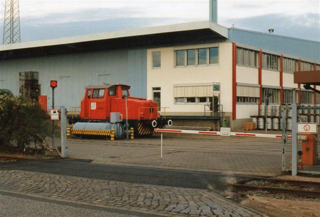 1997 var lokomotivet rødt, men det havde stadig sit KTGnummer i behold, 2 trods det, at selskabet kun havde dette ene lokomotiv.