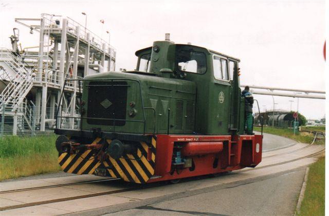 Så en dag i 2005 var BP-mærket væk og der stod igen Schindler på lokomotivet.