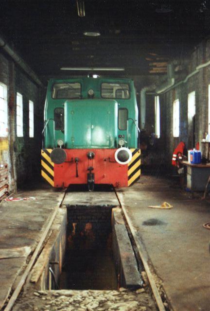 I remisen stod i 208 også Haltermann 1, Schöma 2714/1964. CFL200VR/EX.