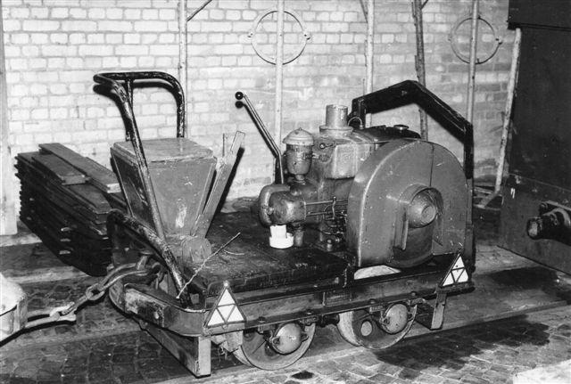 Også en skinnekuli havde Curslack i remisen. Det var Strüver 60198/1949.