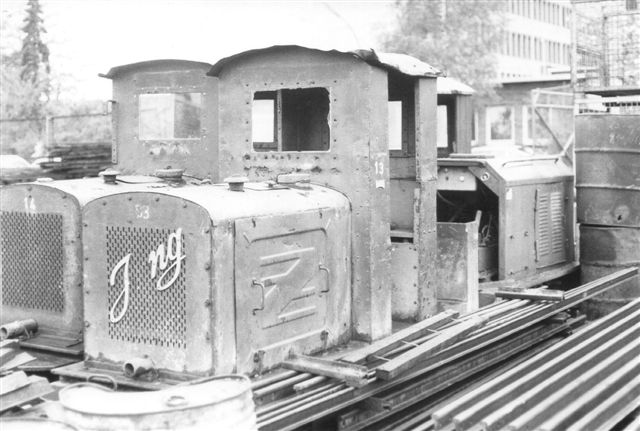 Diema 2615 stod bag Pauli Petersens lokomotiver. Det var fra Jacobi Tonindustri.