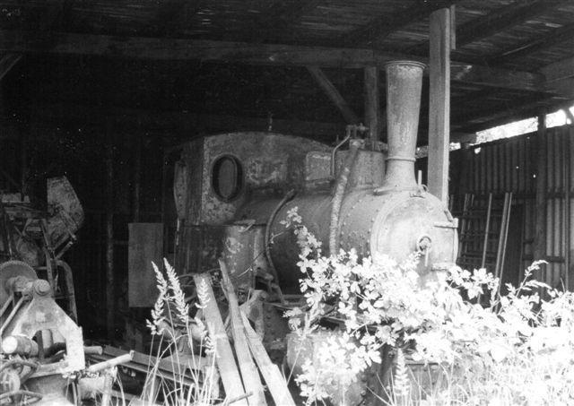 Her ses et Henschel uden kendt byggenummer, men dog med byggeår 1914. Foto: Ulrich Völz 1985.