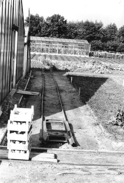Gartneriets spornet med klatredrejeskiver.