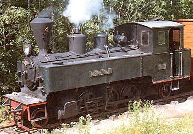 UHB 4, Setskogen, Chemnitz 3356/1909 på Hobbybanen, som nordmændene kalde museumsbanen. Foto: Hans Kristian Hansen 1970.