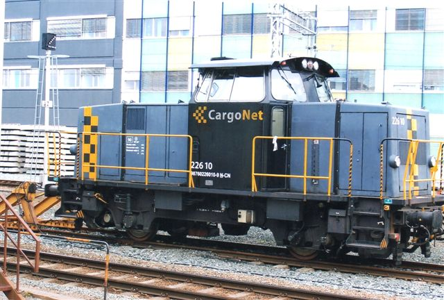 CargoNet 226.10 også i Trondheim.