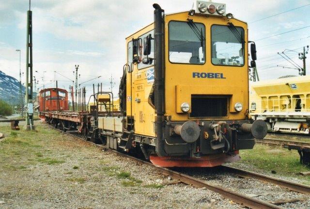 Banverket MTR 1927 B, Robel i Abisko 2002.