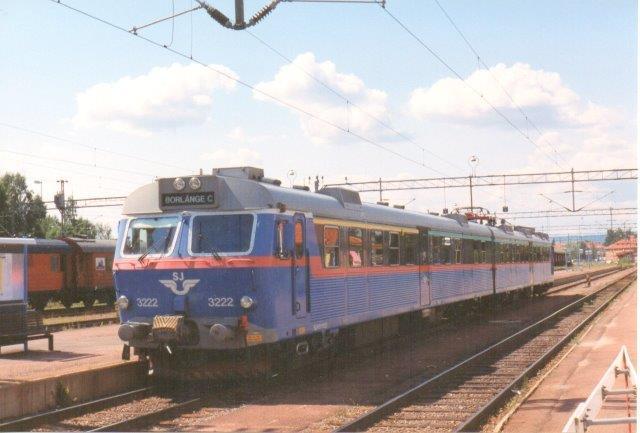 SJ X12 3222 i Mora 1997.