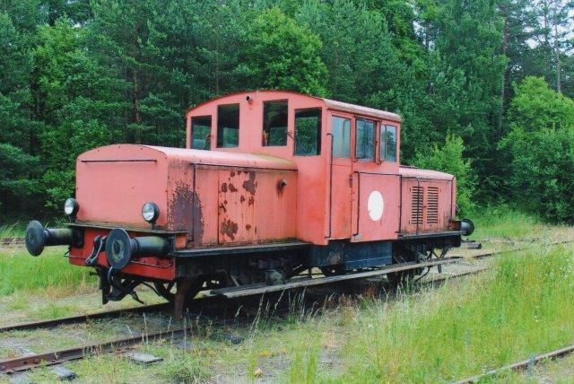 SJ Z49 109 nu i Brösarp Det var også mærket (havde været) SSA. 2013.