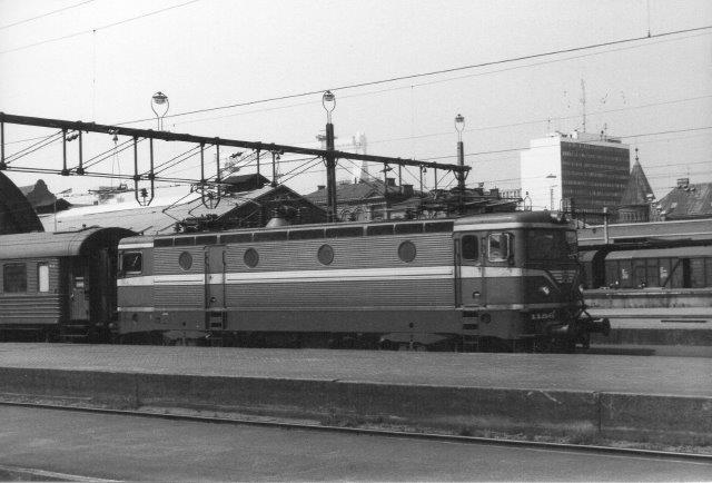 SJ Rc4 1156 i Malmö 1982.