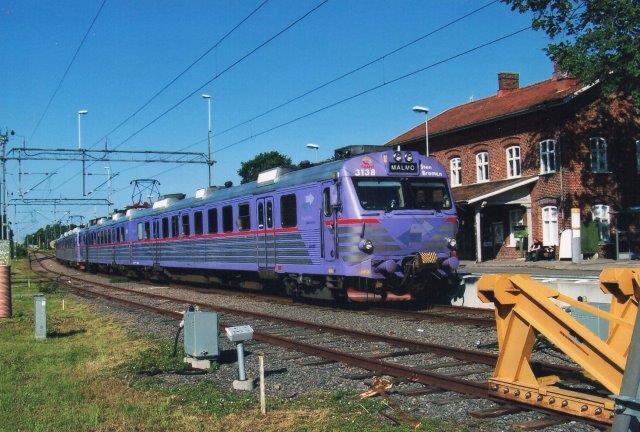 Skånetrafikkens 3138, Sten Broman i Simrishamn for Arriva 2011.