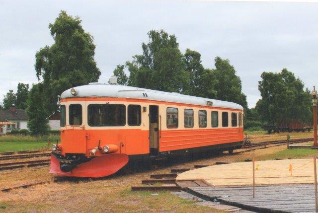 SJ Y7 1181 hos Skåne - Smålands Järnv¨g i Strömsnäsbruk 2013.