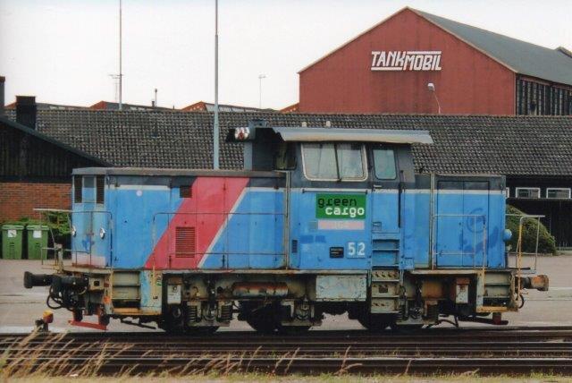 GC V5 52 i Ystad 2013. Hvad nummeret vr i SJ-regi, vides ikke.