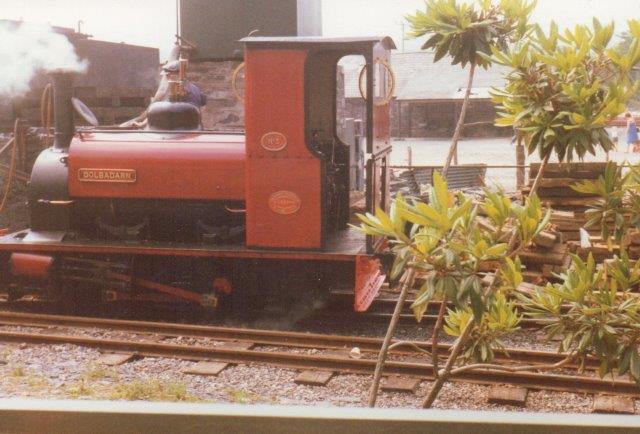 Nr. 3 hedder Dolbadan efter en nærliggende borgruin. Den er bygget af Kitson 1922.