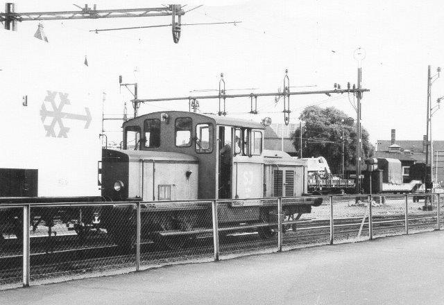 SJ Z 43 296 rangerer ved færgen i Helsingborg 1972.