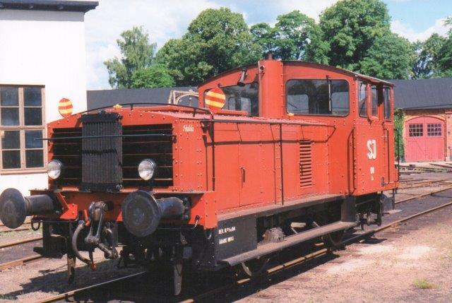 SJ Z49 100, Hulda, Kochums 121/1939 hos Nora bergslag Veteran Järnväg i Nora 1997.