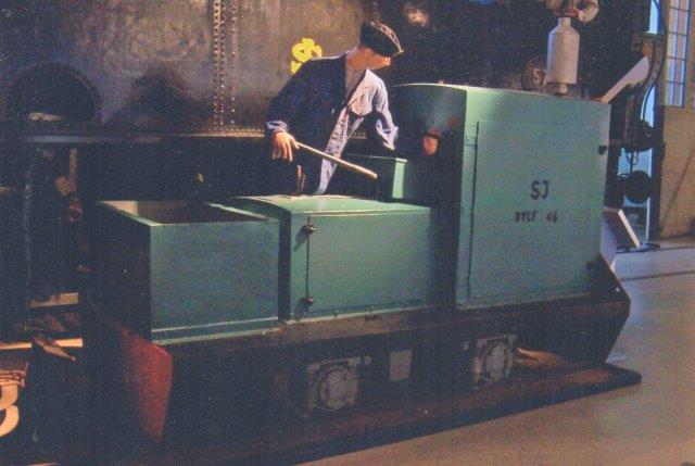 SJ BYCF 46, Sala Maskinfabriks AB 159/1941 fra SJ svelleimprægneringsværk i Nässjö. 2011.
