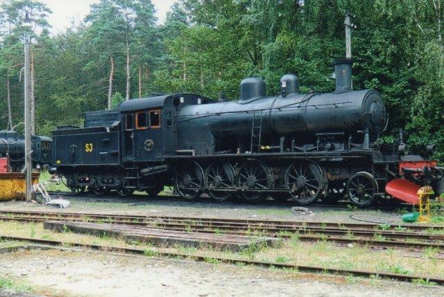 SJ E2 1183, Motala 1914. Ombygget 1948. Hos Ångtoget på Österlen i Brösarp. Foto Edit Laursen 2011.