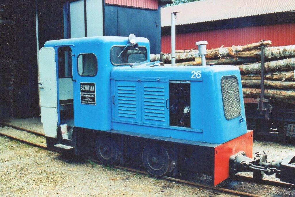 Ohs Bruk 26, Schöma 1623/1954. Foto 2008.