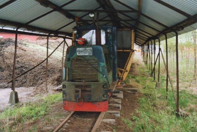 Hasselfors Garden, perstorp 89, Schöma 3404/1972 ex. Rørdal 510-334. Den var kørerklar og havde kørte vinteren 2005/06. Foto: 2006.
