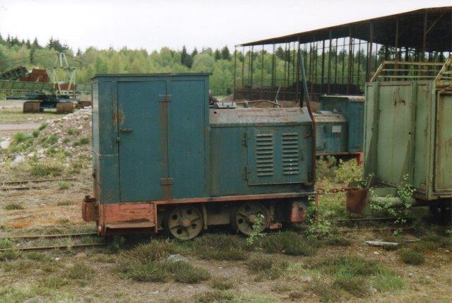 Scanpeat Diema 3003/1968 ligeledes hensat. Foto: 2006.
