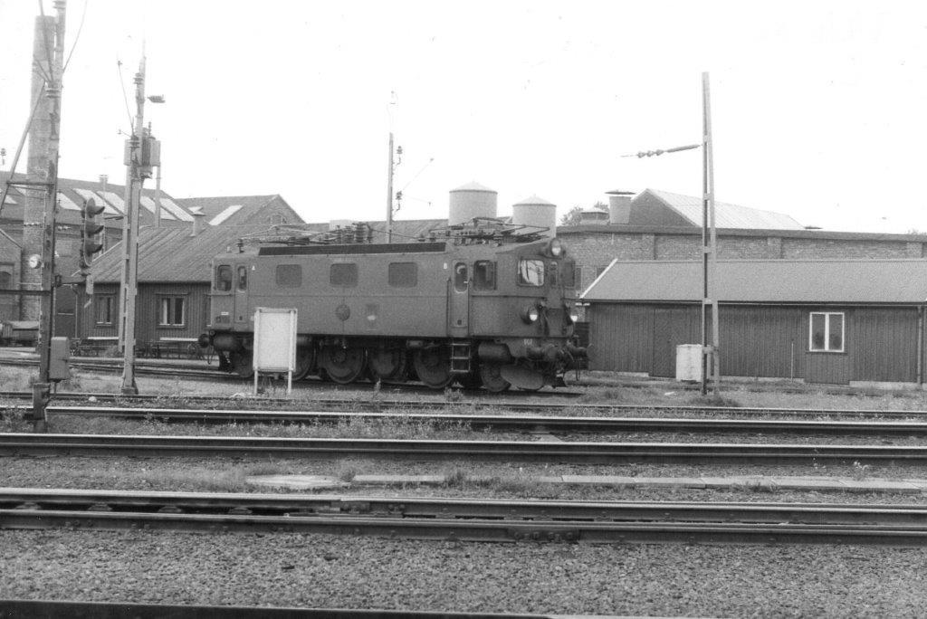 SJ Da 807 ved depotet i Halmstad 1986.