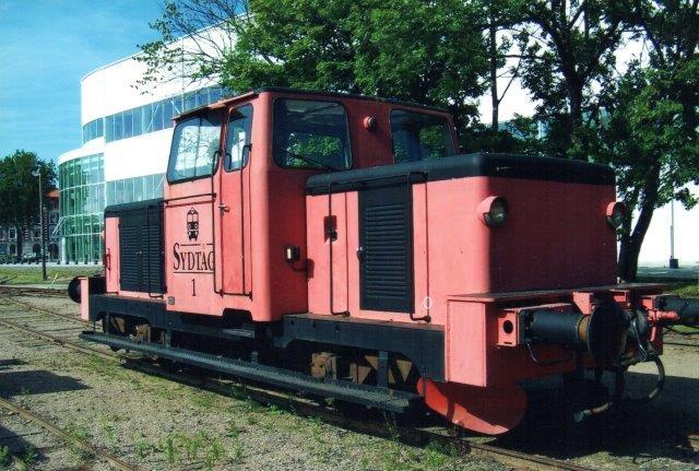 Sydtåg 1, ex SJ Z 43 469. Foto i Kritianstad 2011.