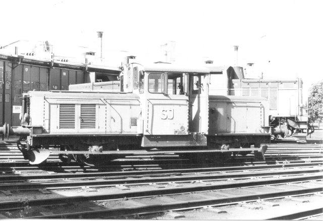 SJ Z43 215, KNV 176/1951 på Sävenäs 1984.