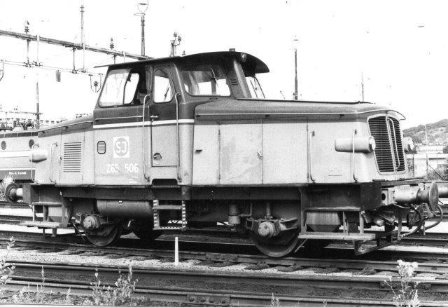 SJ Z65 506, KVAB 223/1963 på Sävenäs 1984.