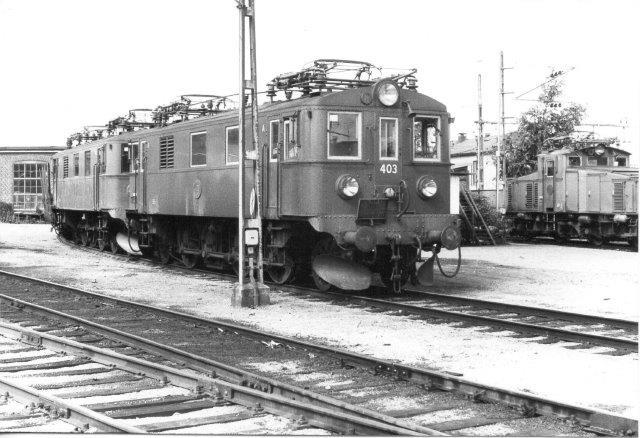 SJ Du2 403, NH 199571936. Sävvenäs 1984.