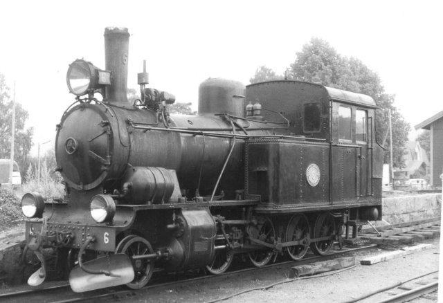 Også AGJ 6 stod ude 1986.