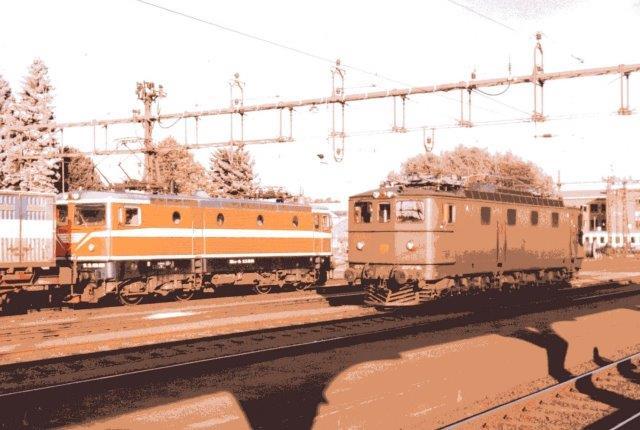 SJ Ma 874 og SJ Rc4 1188 i Kristinehamn. 1086.