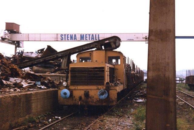 Stena Metall uden nr. DWK 719/1943. Type 160D. Foto 1986.