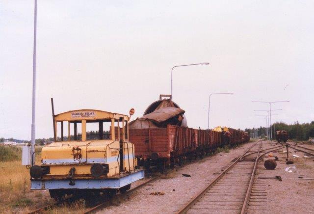 Et tredje lokomotiv stod hos firmaet, men ligeledes uden data. 1986.