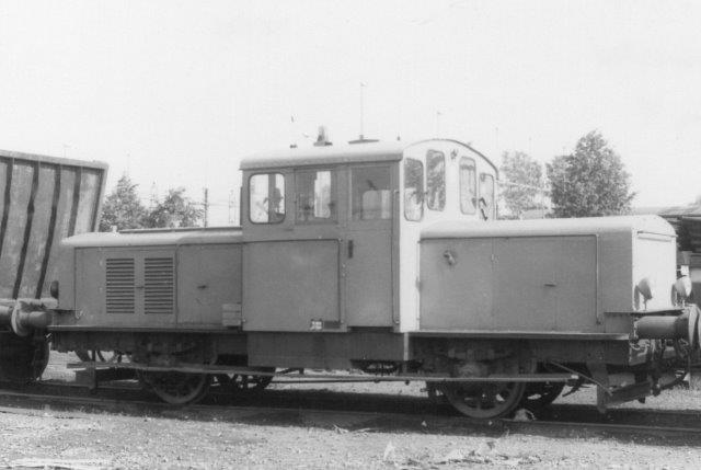 Værkslok uden nr.. Formentlig KMV 154/1946. Ex SJ Z49 177. Til Halmstad 1984.
