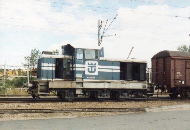 Iggesund Bruk uden nr., Henschel 31995/1978. Foto på værket 1988.