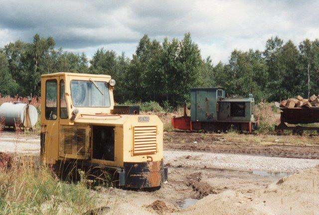 Stockaryd stod Diema 2555/1962 i reserve. 1988.