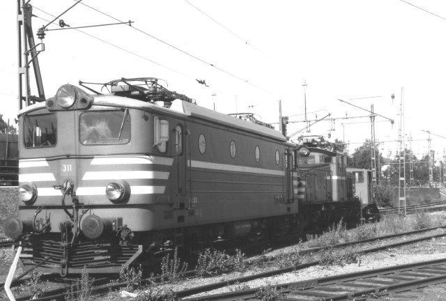 TgOJ Bt 311 i Eskilstuna 1988.