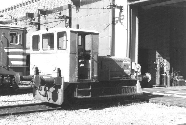 TGOJ Z1 24 på værkstedet i Eskilstuna 1988.