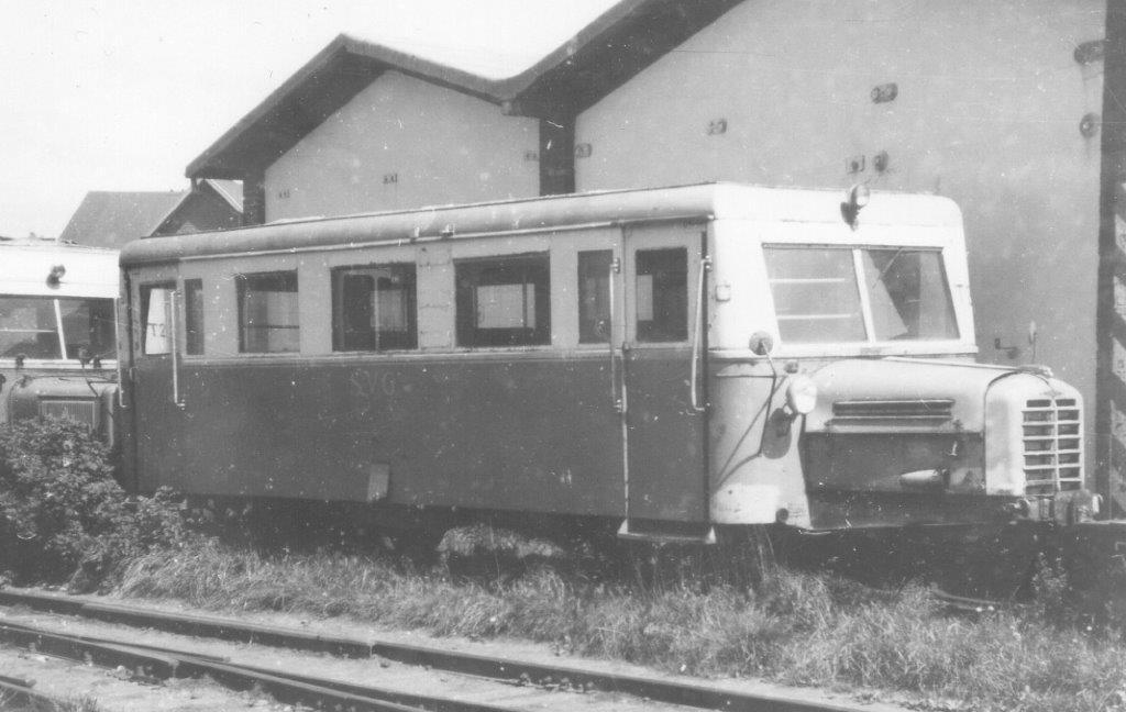 I 1968 stod goså på Nordbanegården to skinnebusser, som jeg dengang fandt grimme. Det var SVG 22 og 25. Det var to såkaldte Wismarskinnebusser, der efter sigende stammede fra Værnemagten. Den bagerste ses i dag i bruchhausen-Vielsen på veteranbanen der.