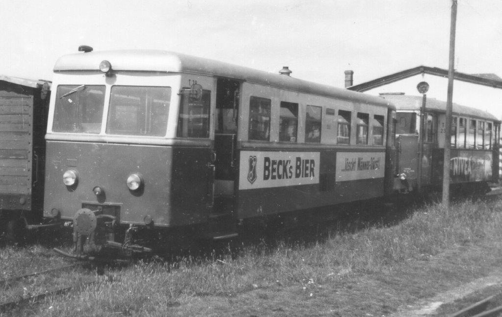 Her holdt endvidere motorvognen T 28 og T 23.