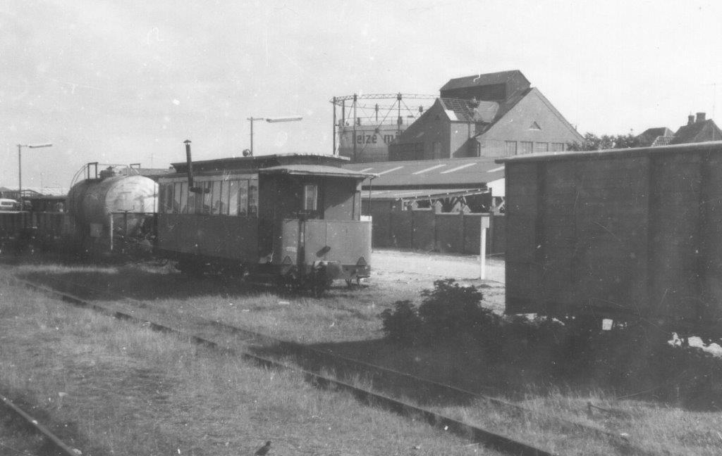 På den gamle Sydbanegård var der i 1968 knap så interessant,, mend er stod dog blandt andet en tankvogn, en godsvogn samt en endnu ældre personvogn indrettet som værksted.