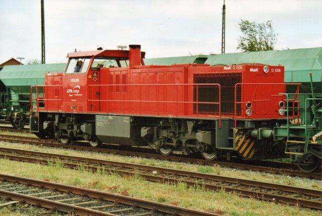 CFL Cargo 1206.008 i Nienüll 2007.