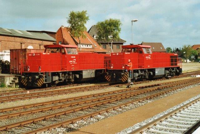 CFL Cargo 1206.001 og ? i Niebüll 2007.