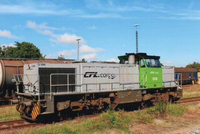CFL Cargo 1510 eller 92 80 1275 016-3 D-BUVL i Niebüll 2014.