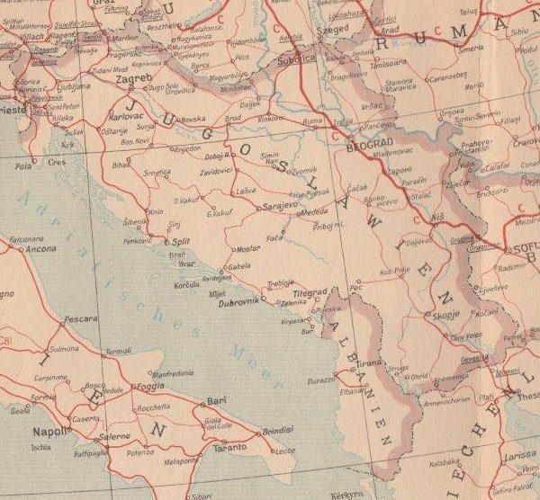Balkan Jernbaner Indledning Bents Bane